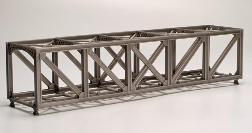 model kit 00 single track truss bridge