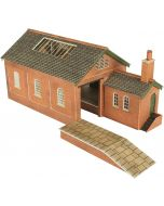 Model kit N: Goods shed - Metcalfe - PN112
