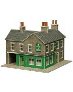 Model kit N:  corner shop and pub stone built - Metcalfe - PN117