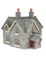 Model kit N: Settle and Carlisle Railway station masters house - Metcalfe - PN935