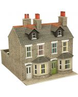 Model kit OO/HO: Terraced houses stone - Metcalfe - PO262