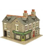 Model kit OO/HO: Corner shop stone - Metcalfe - PO264