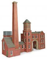 Model kit OO/HO: Factory entrance and boiler house - Metcalfe - PO284