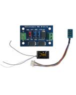 Zen Black decoder - 8 en 21 pin - with ABC module - DCC concepts | englishmodelrailways.shop