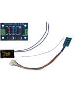 Zen Black - classic small decoder shape with 8-pin harness adn ABC module - DCC concepts