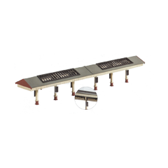 Model kit N: Apex platform canopy