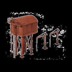 Model kit N: Square Water Tower