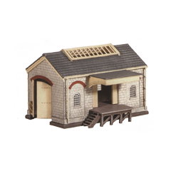 Model kit N: Goods Shed