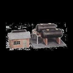 Model kit N: Oil depot