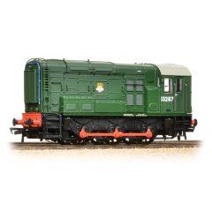 Class 08 13287 BR Plain Green Early Emblem