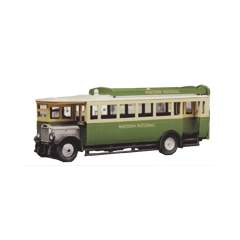 Model kit OO: 1927 Maudslay ML 3 Bus - Western National livery