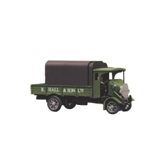 Model kit OO: 1926 Thornycropft type PB 4 ton lorry. Hall and son livery