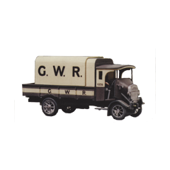 Model kit OO: 1926 Thornycropft type PB 4 ton lorry. GWR livery