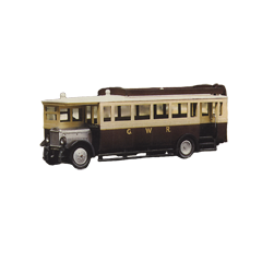 Model kit OO: 1927 Maudslay ML 3 Bus - Great Western Railway livery