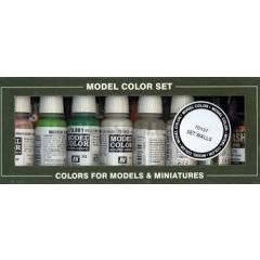 Building set 8 colours - Vallejo Model Color  -  Acrylic Paint