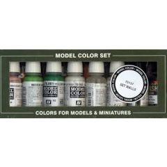 Building set 8 colours - Vallejo Model Color  -  Acrylic Paint