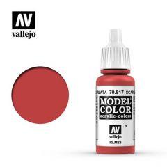 Scarlet - Vallejo 70.817 -  Acrylic Paint
