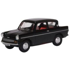 Ford Anglia - Black - Oxford Diecast - OO scale