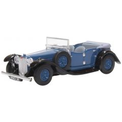 Alvis Speed 20 - Royal Blue - Oxford Diecast - OO scale
