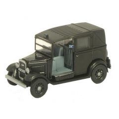 Austin Taxi - Black - Oxford Diecast - OO scale