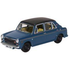 model car - Austin 1300 - teal blue - Oxford Diecast - englishmodelrailways.shop