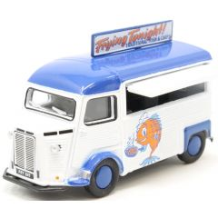 Citroen H - Fish and chips - Oxford Diecast - OO scale
