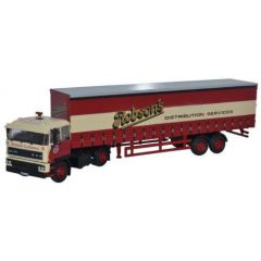 Daf 2800 with 40ft curtainside Robsons trailer - Oxford Diecast - OO scale