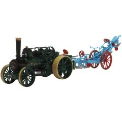 Ploughing Engine - with plough - Oxford Diecast - schaal OO