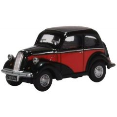 Ford Popular - red black - Oxford Diecast - OO scale