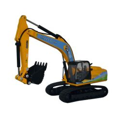 JCB JS220 tracked excavator - JCB - Malcolm - Oxford Diecast - OO scale