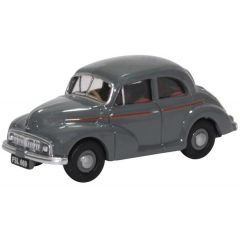 Morris Minor MM saloon - grey - Oxford Diecast - OO scale