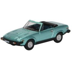 Triumph TR7 convertible - blue - Oxford Diecast - OO scale