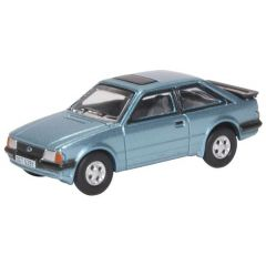 Ford Escort XR3i - Caspian Blue - Oxford Diecast - OO scale