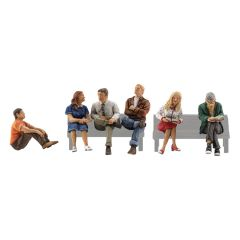People sitting - Woodland scenics A2129 N figures