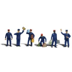 Train personnel - Woodland scenics A2722 O figures