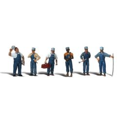 Train mechanics - Woodland scenics A2721 O figures