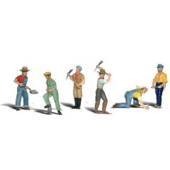 Spoorwerkers - Woodland scenics A2723 O figuren