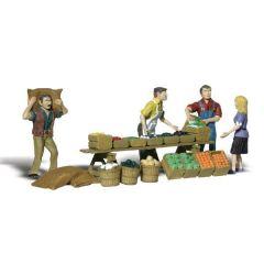 Farmers market - Woodland scenics A2750 O figures
