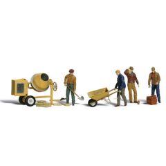 Masonry workers - Woodland scenics A2753 - O figures