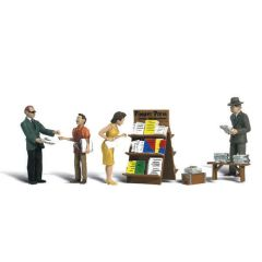Newsstand - Woodland scenics A2191 N figures