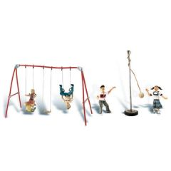 Playground fun - Woodland scenics A1943  - HO figures