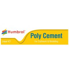 Humbrol Poly Cement - 24ml Tube