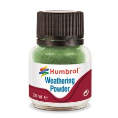 Humbrol  Weathering Powder Chrome Oxide Green - 28ml