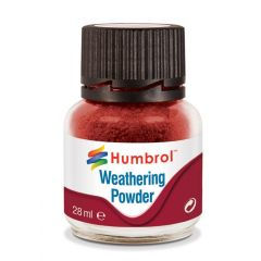 Humbrol Weathering Powder Iron Oxide - 28ml
