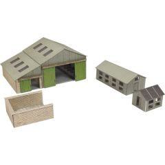 Model Kit N: Manor farm buildings - Metcalfe - PN951