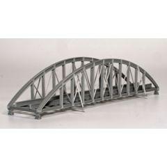 Model kit 00: single track bowstring bridge