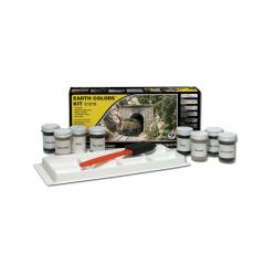 Earth Colors Kit Woodland scenics C1215