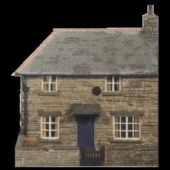 Model kit OO: a farm cottage scene