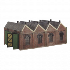 Model kit OO: Two road engine shed