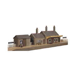 Model kit OO: stone country station
